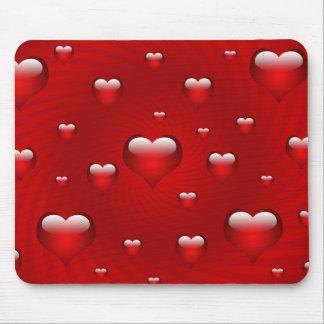 Tarjetas del día de San Valentín, aniversario, amo Tapete De Ratón