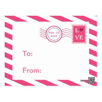 Tarjetas del día de San Valentín de la sala de cla Tarjeta Postal