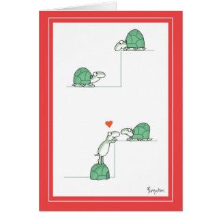 Tarjetas del día de San Valentín de las TORTUGAS p