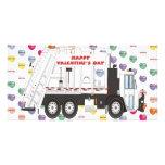 Tarjetas del día de San Valentín del camión de bas Tarjeta Personal