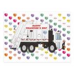 Tarjetas del día de San Valentín del camión de bas Tarjetas Postales