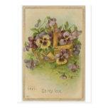 Tarjetas del día de San Valentín del Victorian de  Postales