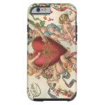 Tarjetas del día de San Valentín del Victorian del Funda De iPhone 6 Tough