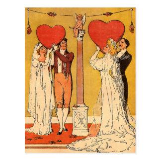 Tarjetas del día de San Valentín del vintage Postal