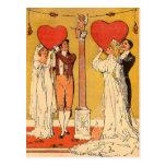 Tarjetas del día de San Valentín del vintage Tarjetas Postales