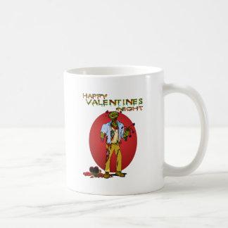 Tarjetas del día de San Valentín del zombi Taza Clásica