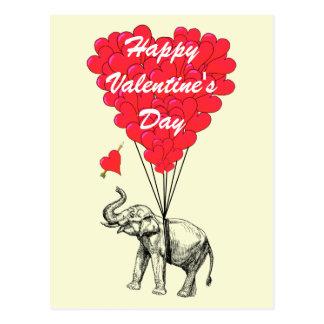Tarjetas del día de San Valentín divertidas del Postal