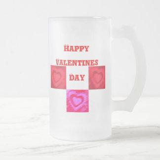 Tarjetas del día de San Valentín dulces Taza De Cristal