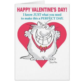 Tarjetas del día de San Valentín ENTUSIASTAS del