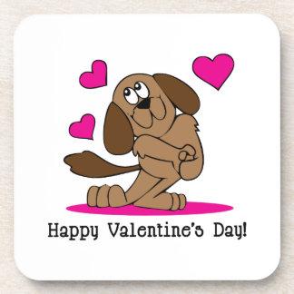 Tarjetas del día de San Valentín felices Posavaso
