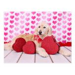 Tarjetas del día de San Valentín - GoldenDoodle -  Tarjetas Postales