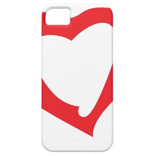 tarjetas del día de San Valentín iPhone 5 Carcasa