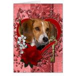 Tarjetas del día de San Valentín - llave a mi