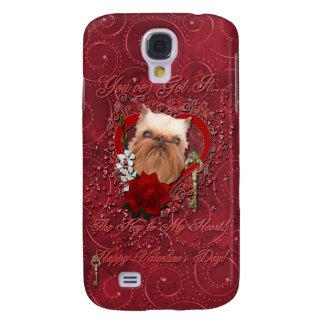Tarjetas del día de San Valentín - llave a mi cora Funda Para Galaxy S4