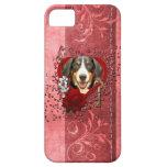 Tarjetas del día de San Valentín - llave a mi cora iPhone 5 Case-Mate Fundas