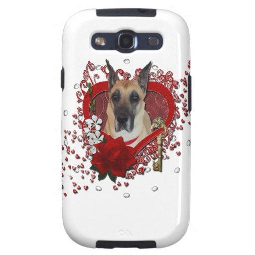 Tarjetas del día de San Valentín - llave a mi cora Galaxy SIII Carcasas