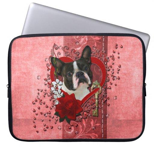 Tarjetas del día de San Valentín - llave a mi cora Mangas Computadora