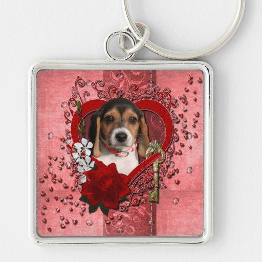 Tarjetas del día de San Valentín - llave a mi cora Llaveros