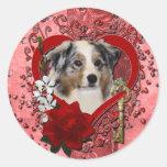 Tarjetas del día de San Valentín - llave a mi cora Etiquetas