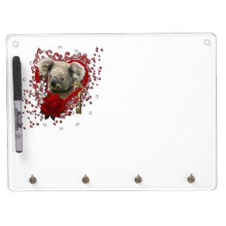 Tarjetas del día de San Valentín - llave a mi cora Tableros Blancos