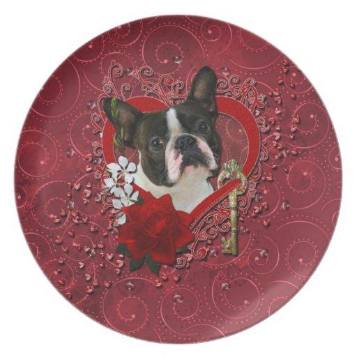 Tarjetas del día de San Valentín - llave a mi cora Platos Para Fiestas