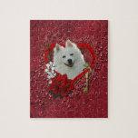 Tarjetas del día de San Valentín - llave a mi cora Puzzle Con Fotos