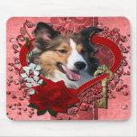 Tarjetas del día de San Valentín - llave a mi cora Alfombrillas De Ratón