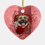 Tarjetas del día de San Valentín - llave a mi Adornos De Navidad