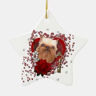 Tarjetas del día de San Valentín - llave a mi Ornamentos De Navidad