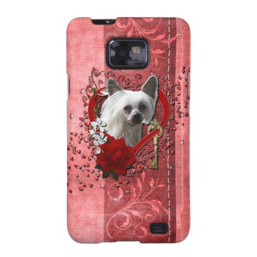 Tarjetas del día de San Valentín - llave a mi Samsung Galaxy SII Carcasas