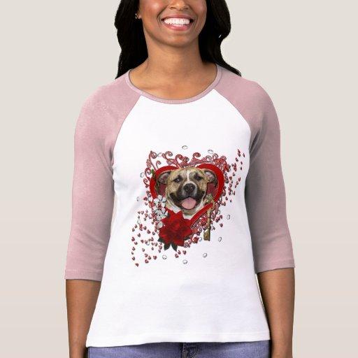 Tarjetas del día de San Valentín - llave a mi Camiseta