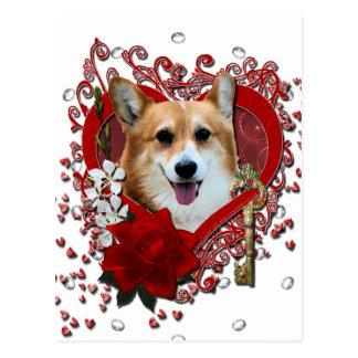 Tarjetas del día de San Valentín - llave a mi Postales