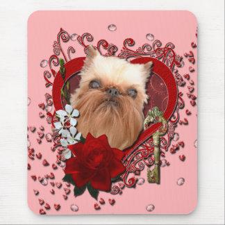 Tarjetas del día de San Valentín - llave a mi Alfombrilla De Raton