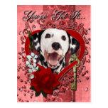 Tarjetas del día de San Valentín - llave a mi Postal