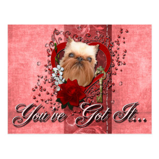 Tarjetas del día de San Valentín - llave a mi Tarjetas Postales