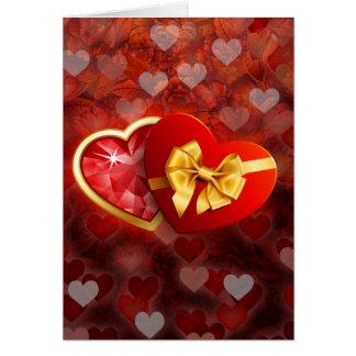 Tarjetas del día de San Valentín por completo del