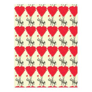 Tarjetas del día de San Valentín románticas del co Postales