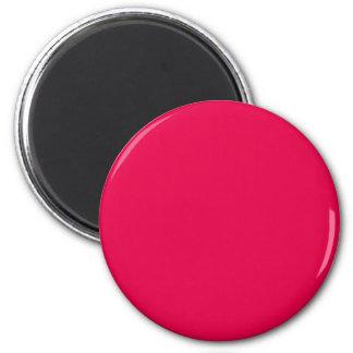 Tarjetas del día de San Valentín rosadas del lápiz Imán Redondo 5 Cm