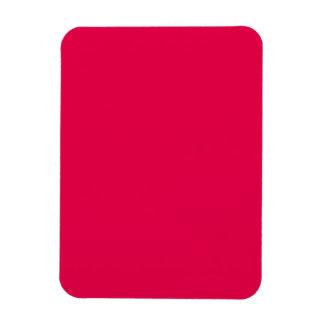 Tarjetas del día de San Valentín rosadas del lápiz Imanes Rectangulares