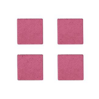 Tarjetas del día de San Valentín rosadas del lápiz Imán De Piedra
