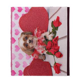 Tarjetas del día de San Valentín - Shorkie - marga