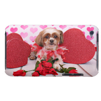 Tarjetas del día de San Valentín - Shorkie - marga Case-Mate iPod Touch Funda