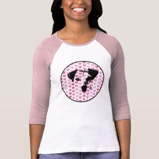 Tarjetas del día de San Valentín - silueta de Jack Camisetas