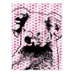 Tarjetas del día de San Valentín - silueta del oso Tarjetas Postales