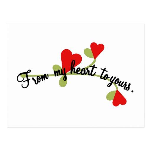 Tarjetas del día de San Valentín Tarjetas Postales
