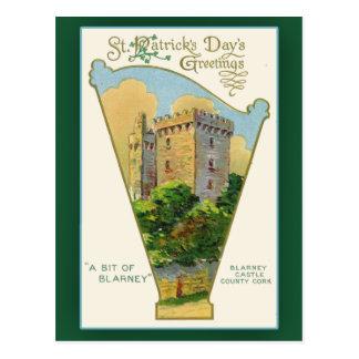 Tarjetas del día de St Patrick del castillo de la Postales