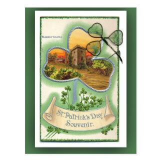 Tarjetas del día de St Patrick del castillo de la Tarjetas Postales