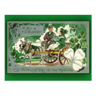 Tarjetas del día del pedazo de O de un St Patrick Postales