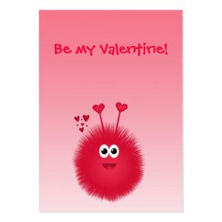 Tarjetas del el día de San Valentín de los niños Tarjetas De Visita Grandes
