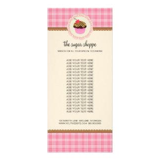 Tarjetas del estante del producto del boutique de  tarjeta publicitaria personalizada